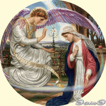 164 The Annunciation (m)