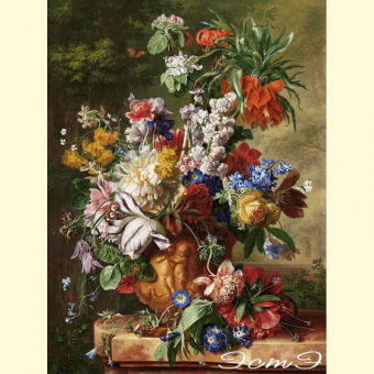 167 Bouquet of Flowers in an Urn