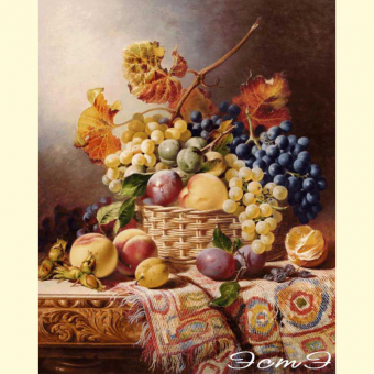 208 Still Life with Basket of Fruit