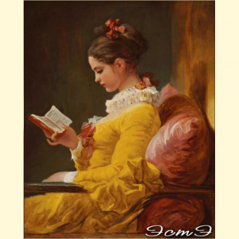 049 A Young Girl Reading