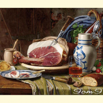 234  Still Life with Ham