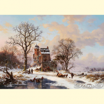 296 View of Winter Holland