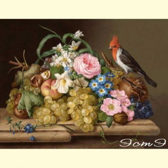 297 Still Life with a Bird