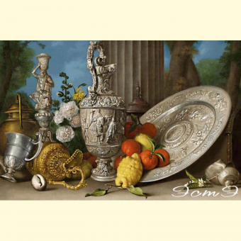 311 Still Life with Silver Utensils