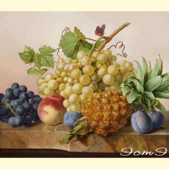 322 Fruit Still Life (v)