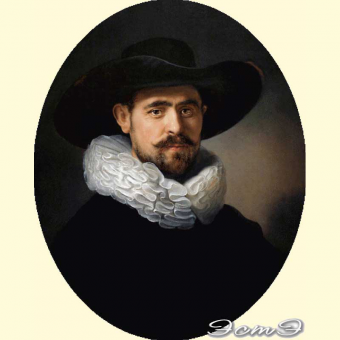 122 Portrait of a Man in a Hat